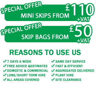 skip bags services covering all of Kingston Upon Thames and the local areas